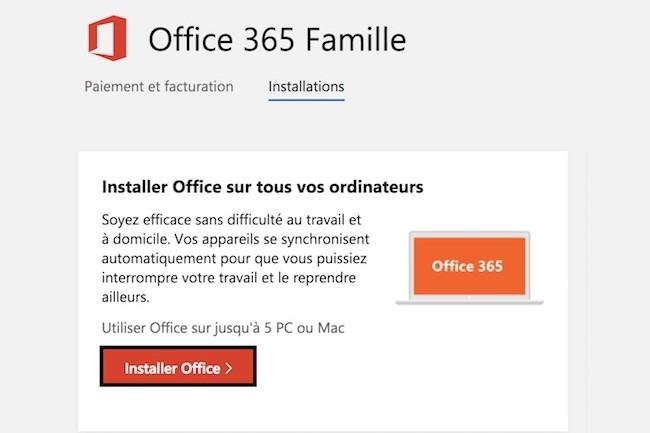 Jusqu'à présent, il était possible d'installer Office 365 sur cinq PC ou Mac. (Crédit D.R.)
