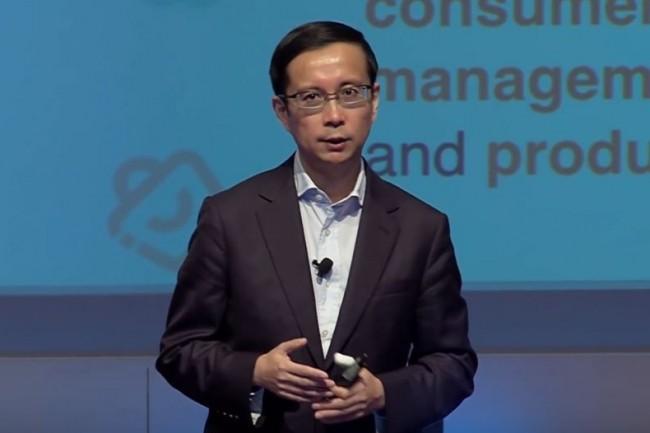 Daniel Zhang, CEO d'Alibaba Cloud ne manquait jusqu'alors pas d'ambition pour développer l'activité de sa société aux Etats-Unis. (crédit : D.R.)