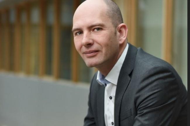 Paul Labrogère, le directeur général de l'IRT SystemX succède à Eric Perrin-Pelletier qui avait officié à ce poste depuis la création de l'institut. Crédit :  Gil Lefauconnier – IRT SystemX.