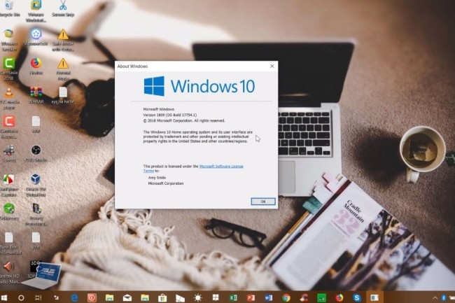 La version Windows 10 Insider Preview Build 17754 arrive à quelques semaines de la prochaine release majeure Windows 10 October 2018 Update. (crédit : Windows Love)