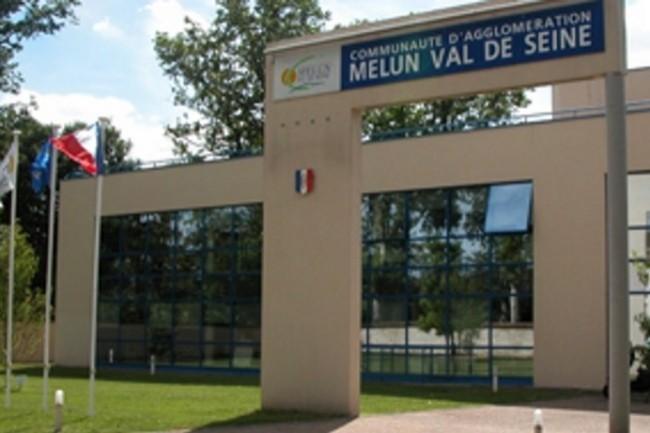 La Communauté d'Agglomération Melun Val de Seine a hérité son SI de 14 communes différentes