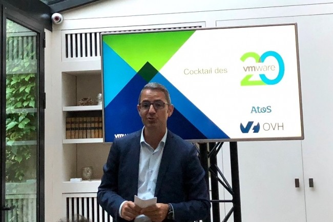 Ancien directeur de cabinet d'Alain Benichou chez IBM, Antony Cirot est aujourd'hui directeur général de VMware France. (Crédit S.L)