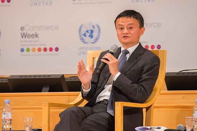 Jack Ma a fondé Alibaba en 1999. A 54 ans, il prépare son départ de l'exécutif mais restera dans le groupe dans le Alibaba Partnership. (Crédit : ITU Pictures - Flickr)