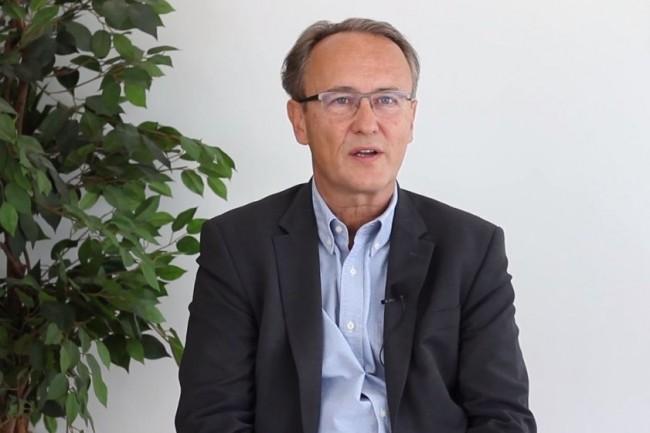 « L'IT Tour c'est l'occasion d'aller à la rencontre des acteurs régionaux, d'écouter leurs besoins, les problématiques métier qu'ils rencontrent pour enrichir notre spectre d'expertise et de solutions à apporter », nous a expliqué Gérard de Carville, directeur marketing de Kyocera Document Solutions France. (crédit : LMI)