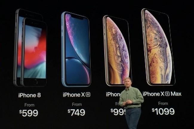 Pour s'offrir un iPhone XS ou XS Max, il faut désormais dépenser plus qu'un Smic... (Crédit : Apple)
