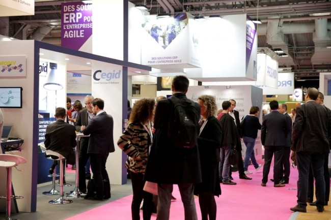 Articulés entre ERP, eAchats, BI & big data, Démat et crm/marketing, Salons Solutions ouvre ses portes à 14 h le lundi 24 septembre à Paris Expo. (Crédit : Salons Solutions)