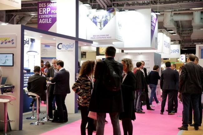 Articulés entre ERP, eAchats, BI & big data, Démat et crm/marketing, Salons Solutions ouvre ses portes à 14 h le lundi 24 septembre à Paris Expo. (Crédit : Salons Solutions)