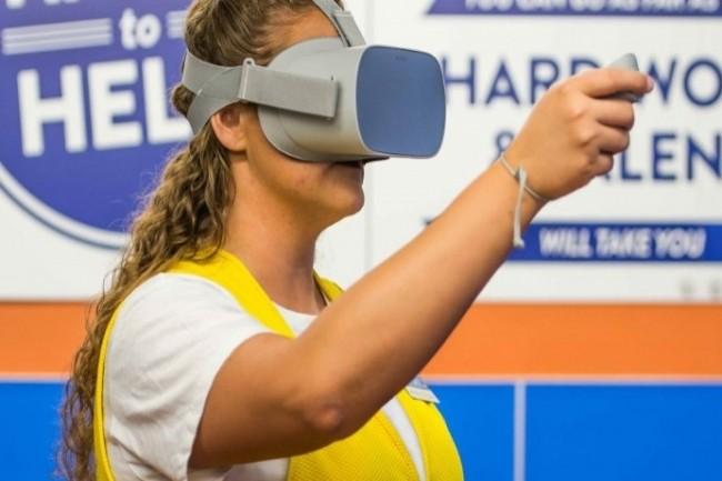 Des entreprises comme Walmart ont investi dans la réalité virtuelle et augmentée. (Crédit Photo : Walmart)