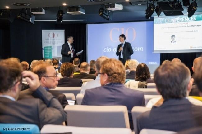 Le 25 septembre 2018, CIO a organisé une conférence « Digital Workplace » au Centre d'affaires Paris Trocadéro.