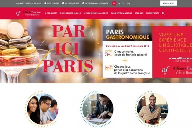 La CNIL a sanctionné l'association Alliance Française Ile-de-France après avoir réalisé 3 contrôles dont un sur site. (crédit : D.R.)