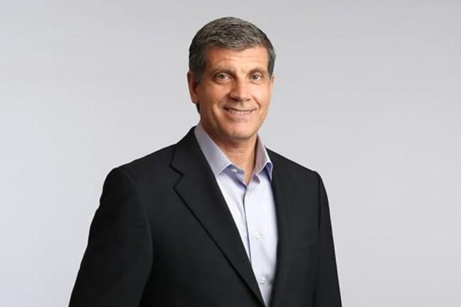 Frank Calderoni, président et CEO d'Anaplan depuis 2017, était auparavant directeur financier et responsable des opérations de Red Hat. (Crédit : Anaplan)