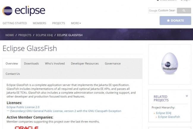 Java EE et GlassFish sont arrivés chez la Fondation Eclipse.