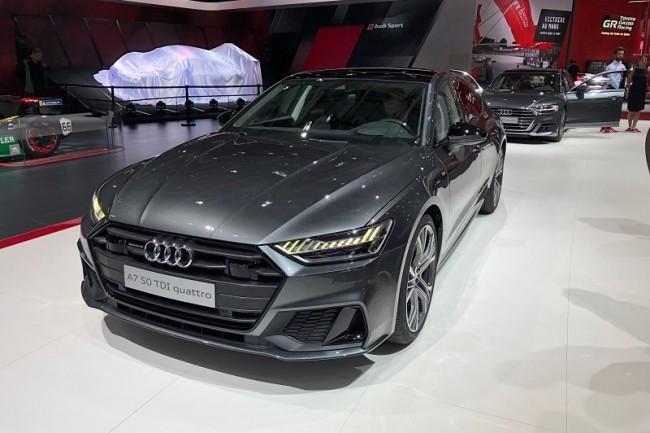 L'Audi A7 embarque des aides à la conduite de niveau 3 développées avec le concours d'ARM et Nvidia pour la partie calcul. (Crédit S.L.)