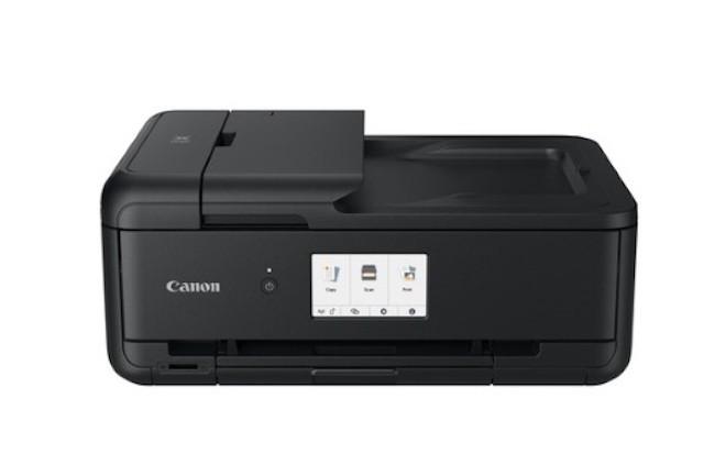 La plus performante des imprimantes Pixma lancées par Canon est la TS 9550 et ne sera disponible qu'en novembre prochain. (Crédit : Canon)