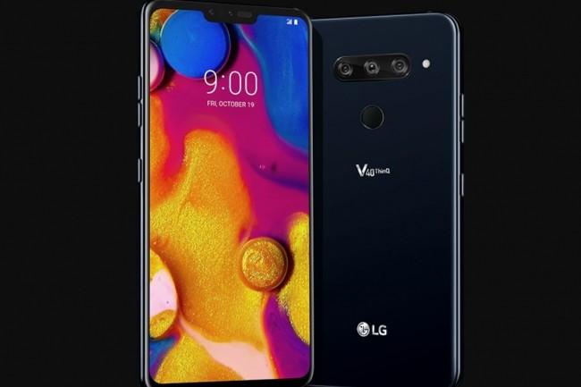 Le LG V40 arrive sur un marché des smartphones XXL - plus de 6 pouces - où il sera difficile de se tailler une place entre le Galaxy Note 9, le Pixel 3 et l'iPhone XS Max. (crédit : Christopher Herberte / IDG)