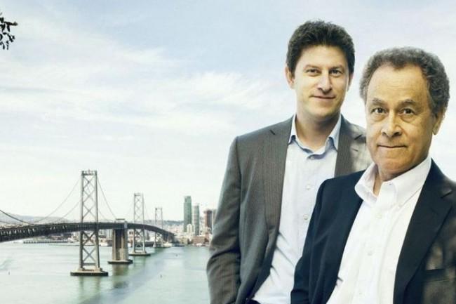 Orion Hindaw (CEO de Tanium) à gauche, et David hindawi (président exécutif de Tanium) ont tous les deux co-fondés Tanium en 2007. (crédit : D.R.)