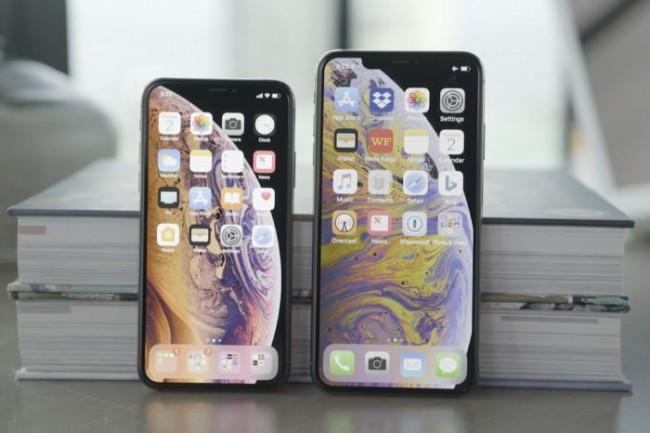 L'iPhone XS affiche une taille d'écran de 5,8 pouces et celle du XS Max monte à 6,5. (Crédit Daniel Masaoka / IDG)