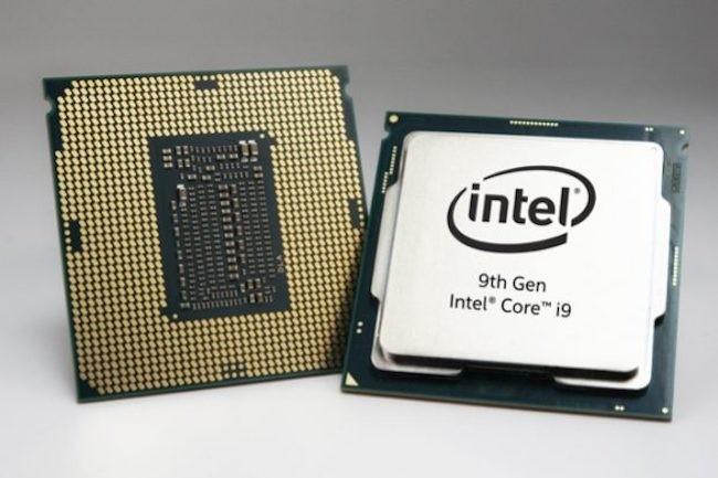 Le Core i9-9900K est le dernier fleuron de la gamme desktop d'Intel avec toujours une gravure en 14 nm sur base Coffee Lake Refresh. (Crédit Intel)