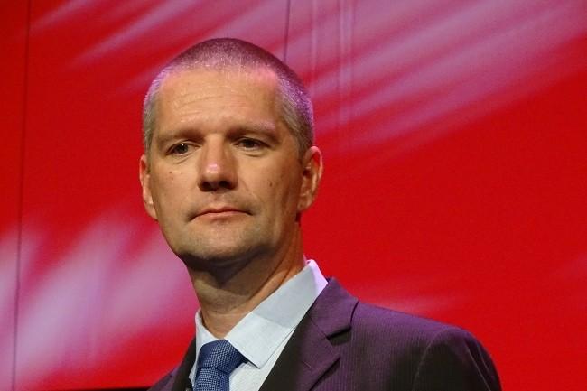 Guillaume Poupard, directeur général de l'ANSSI, a lancé plusieurs chantiers : analyse de risque, OSE, référentiel pour les infogéreurs de sécurité. (Crédit Photo: Jacques Cheminat)