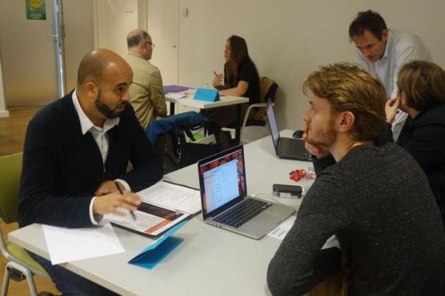 Chaque mois, la 3W Academy organise des speed-recruting pour répondre à l'augmentation de la demande sur des profils de développeurs. Crédit. D.R.
