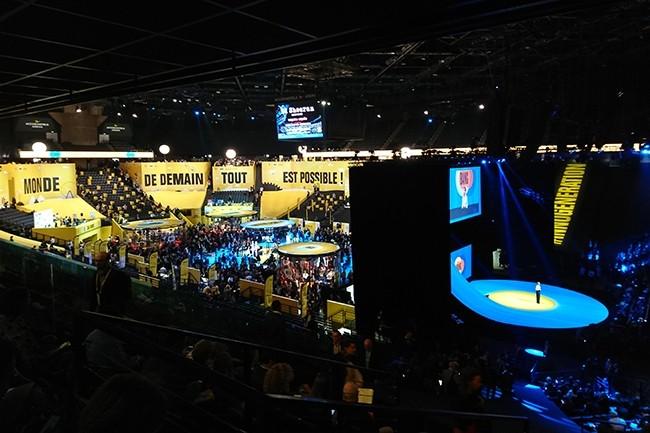 D'après les organisateurs, le salon Bpifrance inno génération a rassemblé 42 000 personnes. (Crédit : Nicolas Certes)