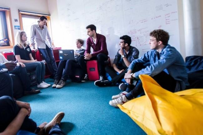 L'idée du StartUpLab de l'Epita consiste à utiliser le potentiel d'innovation technologique des étudiants puis à les accompagner dans leurs premiers pas en tant qu'entrepreneurs. Crédit. D.R.