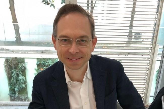 La moitié des applications nouvellement développées dans les entreprises ne sont pas utilisées, estiment Matt Calkins, CEO d'Appian. (Ci-dessus, lors d'un passage à Paris en mai 2018/Crédit : Appian)