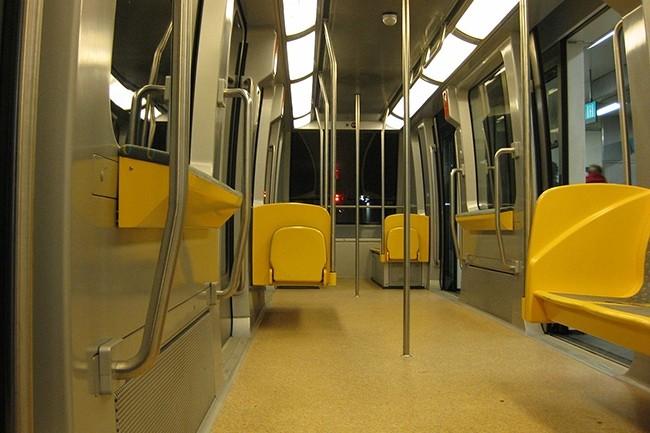130 000 voyageurs empruntent la ligne A du métro de Rennes chaque jour. En lançant cette ligne en 2002, Rennes est devenue l'une des plus petites villes du monde à proposer ce type de transport. (Crédit : Olivier92 - Wikipédia)