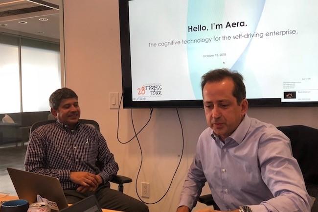 Frédéric Laluyaux, CEO et président d'Aera Technology, FrédéricLaluyauxa indiqué qu'il comptait étendre lechampd'application initial de sa solution en attaquant d'autres marchés.