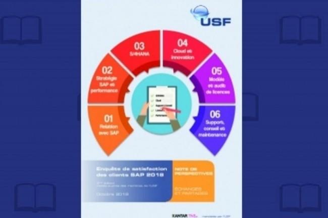 Les résultats de l'« Enquête de satisfaction des clients SAP 2018 » sont réservés aux adhérents de l'USF. (crédit : D.R.)