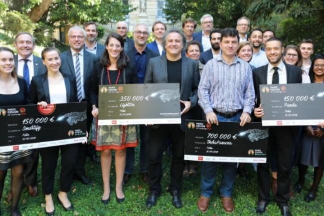 Les laur�ats du concours AI Challenge Paris Region vont se partager 1,35 million d'euros pour d�velopper leurs projets dans le domaine de l'Intelligence artificielle. (cr�dit: R�gion IDF)