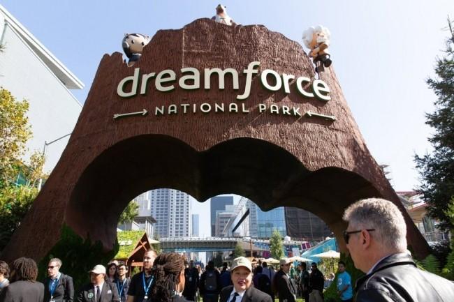 Plus de 100000 personnes ont assisté à la conférence Dreamforce 2018 (Crédit Salesforce)