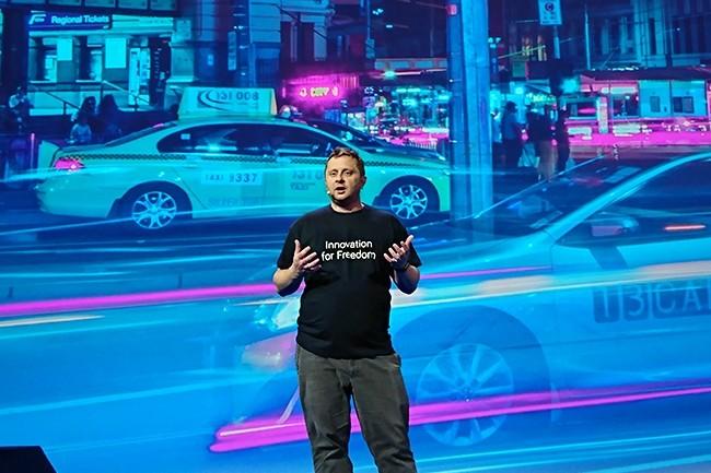 Octave Klaba, président et fondateur d'OVH, est désormais concentré à plein temps sur la stratégie, la vision et la culture du groupe. Un peu à la Marc Benioff chez Salesforce... (Crédit : Nicolas Certes)