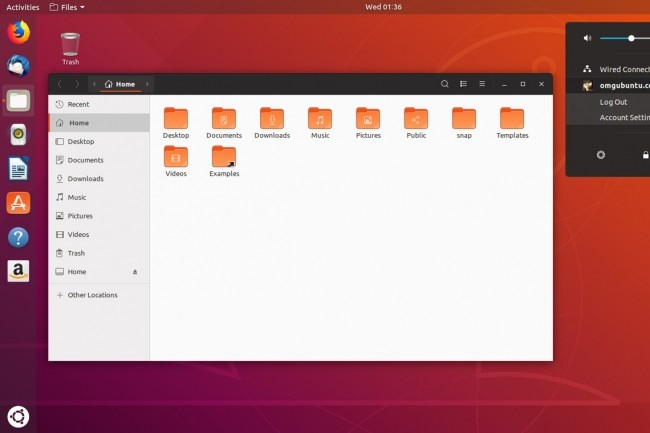 UbuntuLinux 18.10CosmicCuttlefishdans les bacs