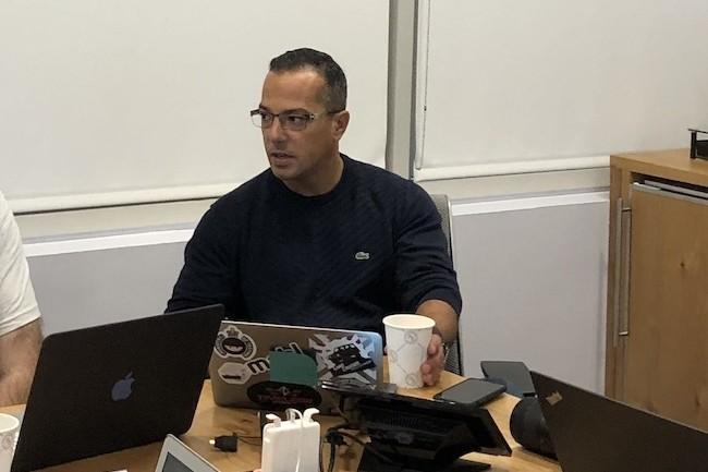 Izzy Azeri, maker de la start-up Mabl, chez son VC Charles River Ventures (CRV) à Palo Alto.