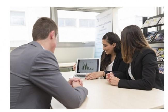 La licence vente et négociation commerciale d'Euridis Business School est accessible en post bac à Lyon ainsi qu'à  Paris. Crédit. D.R.