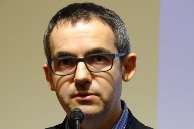 Piotr Matusiak, CISO de l'Oréal Recherche & Innovation, a misé sur l'IA de Darktrace pour enrichir les scénarios de sécurité. (Crédit Photo : Jacques Cheminat)