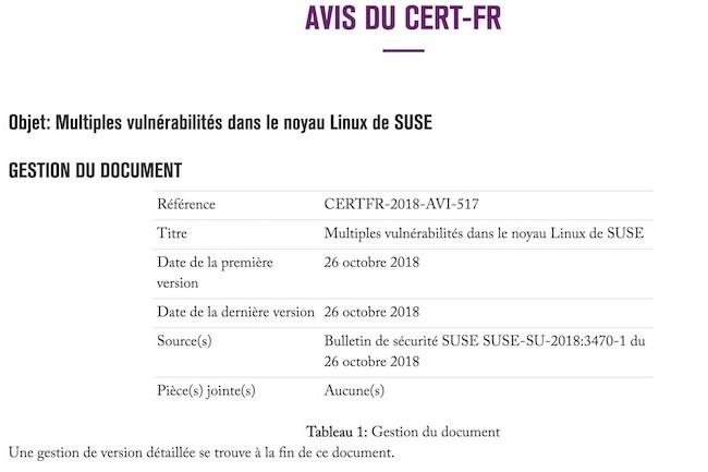 Suse a publié une mise à jour pour corriger les failles touchant le noyau Linux de sa distribution Enterprise Server 12.