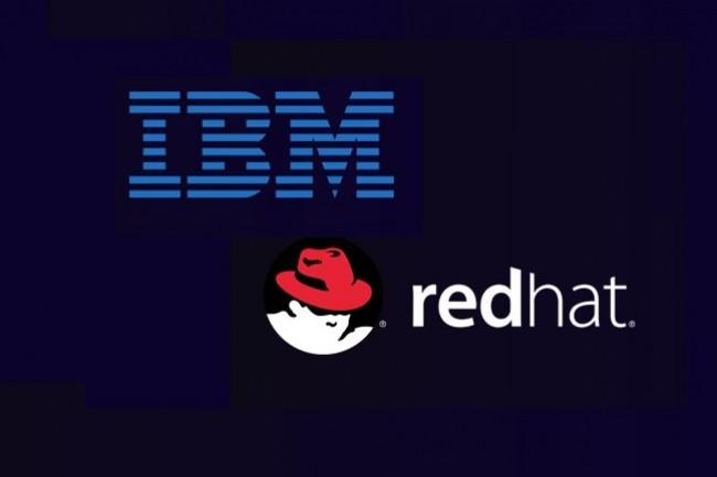 IBM a pr�vu ce 29 octobre une conf�rence avec les investisseurs pour commenter le rachat de Red Hat. (Cr�dit : D.R.)