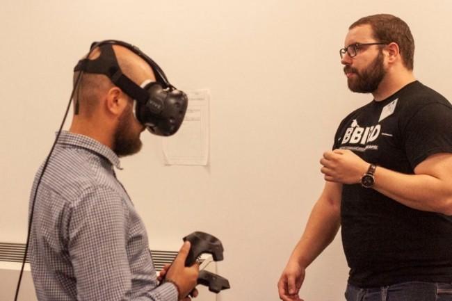 L'app de réalité virtuelle développée par Bbird permet de sensibiliser à diverses formes de handicap en entreprise. crédit. D.R.