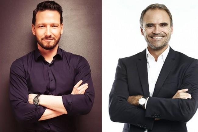 Adelius, dont Christophe Bonnet (à gauche) et Laurent Besson sont les fondateurs, va prochainement déménager à Neuilly-sur-Seine. (Crédit : Adelius)