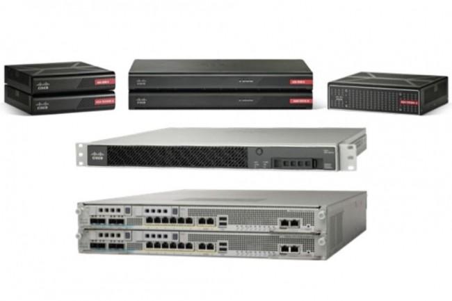 La gamme de pare-feu ASA 5500-X fait partie des systèmes exposés par la dernière vulnérabilité débusquée par Cisco. (crédit : Cisco)