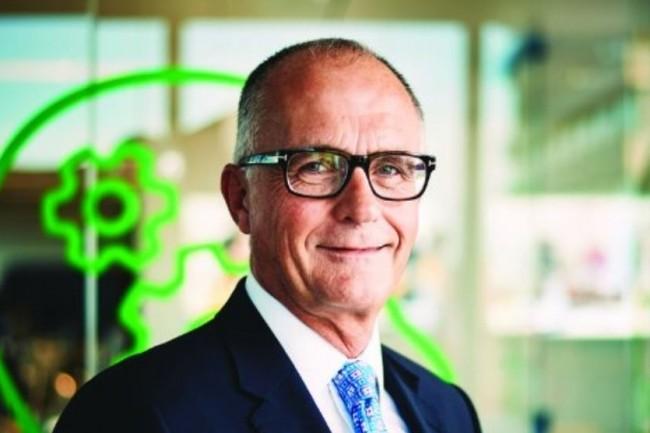 Steve Hare devient CEO de Sage après en avoir assuré l'intérim à ce poste depuis fin août 2018 suite au départ de Stephen Kelly. (crédit : D.R.)