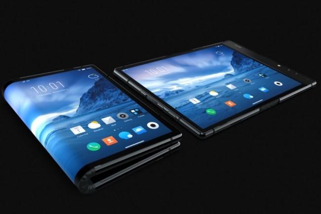 L'écran pliable du FlexPai de Royole permet vraiment de s'affranchir d'une limite entre smartphone et tablette. (crédit : Royole)