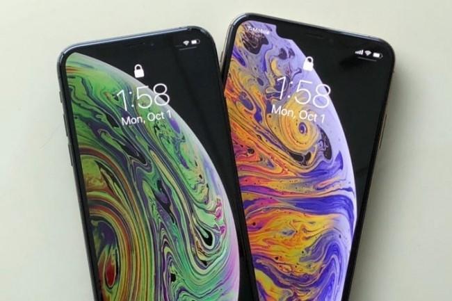 Le descendant de l'iPhone XS d'Apple ne sera probablement pas compatible avec la 5G. Il faudra attendre 2020 et la génération suivante. (Crédit : IDG)