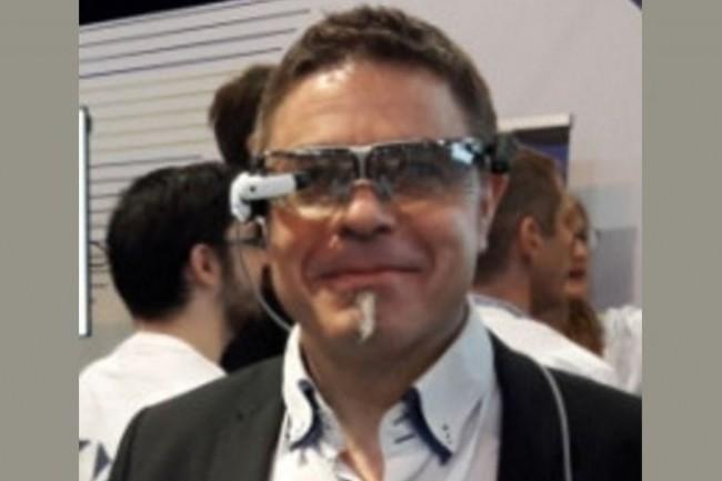 Didier Rubert, responsable activités de sites et innovation, a piloté le projet de téléassistance via des lunettes connectées, proposé par Expert Téléportation. (Crédit Photo : D.R)