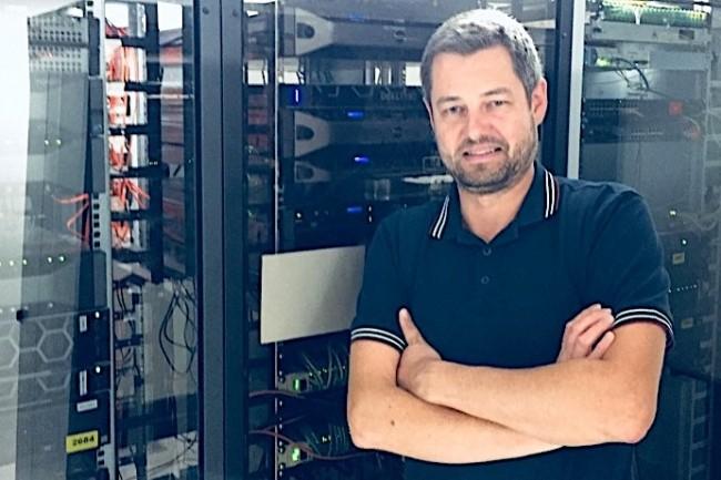 Emmanuel Moncuit, administrateur réseau et système chez MLC, a ajouté la déduplication de Quantum à la sauvegarde de Veeam.