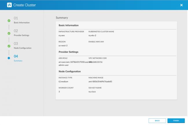 Cette solution hybride intègre Cisco Container Platform (CCP) et Amazon Elastic Container Service for Kubernetes (EKS).