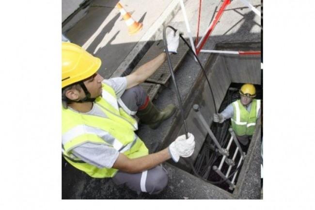 L'école des Plombiers du numérique propose des formations  FTTH (Fiber to the Home) de 3 mois en alternance permettant d'acquérir les rudiments de déploiement de la fibre. Crédit D.R.