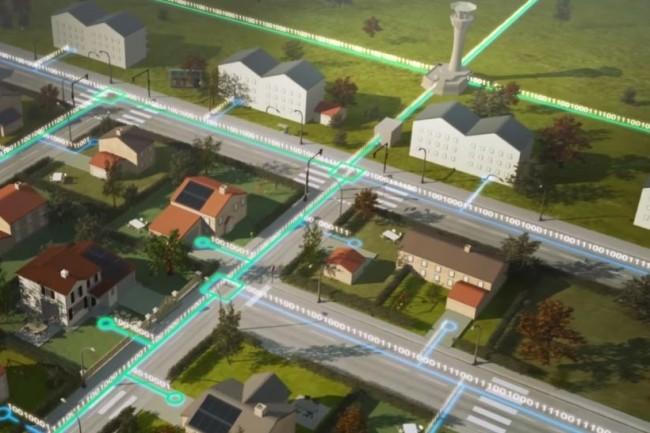 Le réseau privé sécurisé d'Enedis avec OBS et Orange Cyberdéfense va mettre ses équipements industriels à l'heure de la maintenance prédictive. (crédit : Enedis)